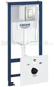 Grohe Rapid SL 39449000GROHE stelaż podtynkowy z przyciskiem spłukującym do miski wiszącej
