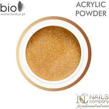 Nails Company Puder akrylowy Glitter Gold - - 7 g