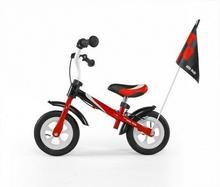 Milly Mally Rowerek biegowy Dragon Delux czerwony