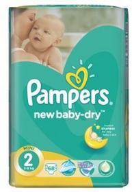 Pampers New Baby Pieluchy 2 Mini 68 sztuk