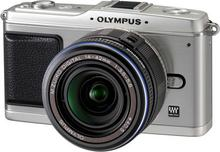 Olympus Pen E-P1 + 14-42 kit srebrny