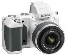 Nikon 1 V2 + 10-30 kit biały