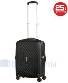 Samsonite AT by Mała kabinowa walizka AT AIR FORCE 1 74401 Czarna - czarny