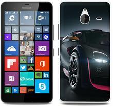 Etuo.pl Foto Case - Microsoft Lumia 640 XL - etui na telefon Foto Case - black car ETMS183FOTOFT030000