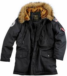 Alpha Industries Kurtka Polar Jacket czarny (123144/03)