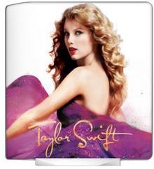 MusicSkins Taylor Swift Speak Now folia ochronna na Seagate FreeAgent Desk MS-TS20025