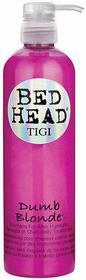 Tigi Bed Head Dumb Blonde Szampon do włosów blond i farbowanych 750ml