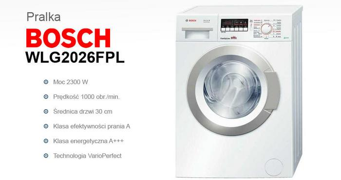 Bosch WLG2026FPL