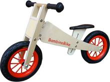 BambinoBike Rowerek z piankowymi bezobsługowymi kołami naturalny