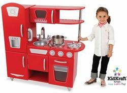 Kidkraft Czerwona Kuchnia Retro Red Retro Kitchen Opinie