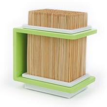 Cookut Stojak bambusowy na noże zielony -