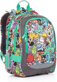 Topgal Plecak szkolny CHI 846 C - Grey