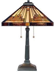 Elstead Lighting Lampa stołowa witrażowa TIFFANY STEPHEN QZ/STEPHEN/TL -