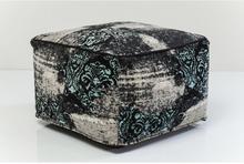 Kare Design : Puf Kelim Ornament Turquise 82472