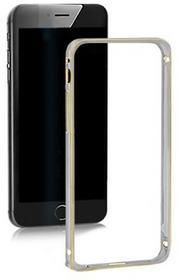 Samsung Qoltec Ramka ochronna na Galaxy S6 | szara | aluminium AOQOLTF00051367