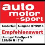 automotorsport Uniroyal RainSport 2015 Internetversion, automotorsport Uniroyal RainSport3 2015 Internetversion,