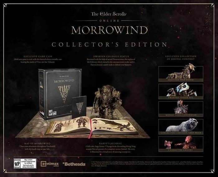 The Elder Scrolls Online: Morrowind Collectors Edition XONE
