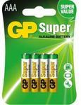 GP Batteries bateria AAA 4szt.)Ultra Alkaline 24AU-U4