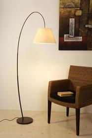 Hollander Holländer Holländer BAMBUS ARCO lampa stojąca Czarny, Brązowy, 1-punktowy 300 K 11139