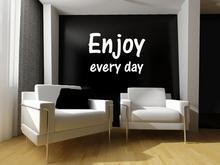 Naklej-to.pl Enjoy every day naklejka napis na ścianę