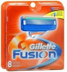 Gillette Fusion náhradné hlavice 8 kusov