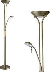 Rabalux nowoczesna LAMPA stojąca OPRAWA Podłogowa BETA 4076 IP20 Patyna