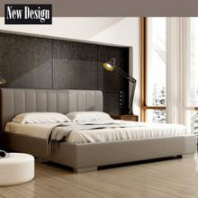 New Design Łóżko NAOMI tapicerowane Rozmiar 200x200 Tkanina Grupa II Pojemnik Bez pojemnika