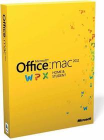 Microsoft Office 2011 Home and Student - dla użytkowników domowych i uczniów Mac PL Eurozone Medialess