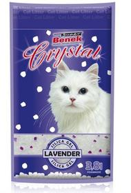 Certech - Benek Super Benek Crystal Lawenda 3,8L Żwirek Silikonowy