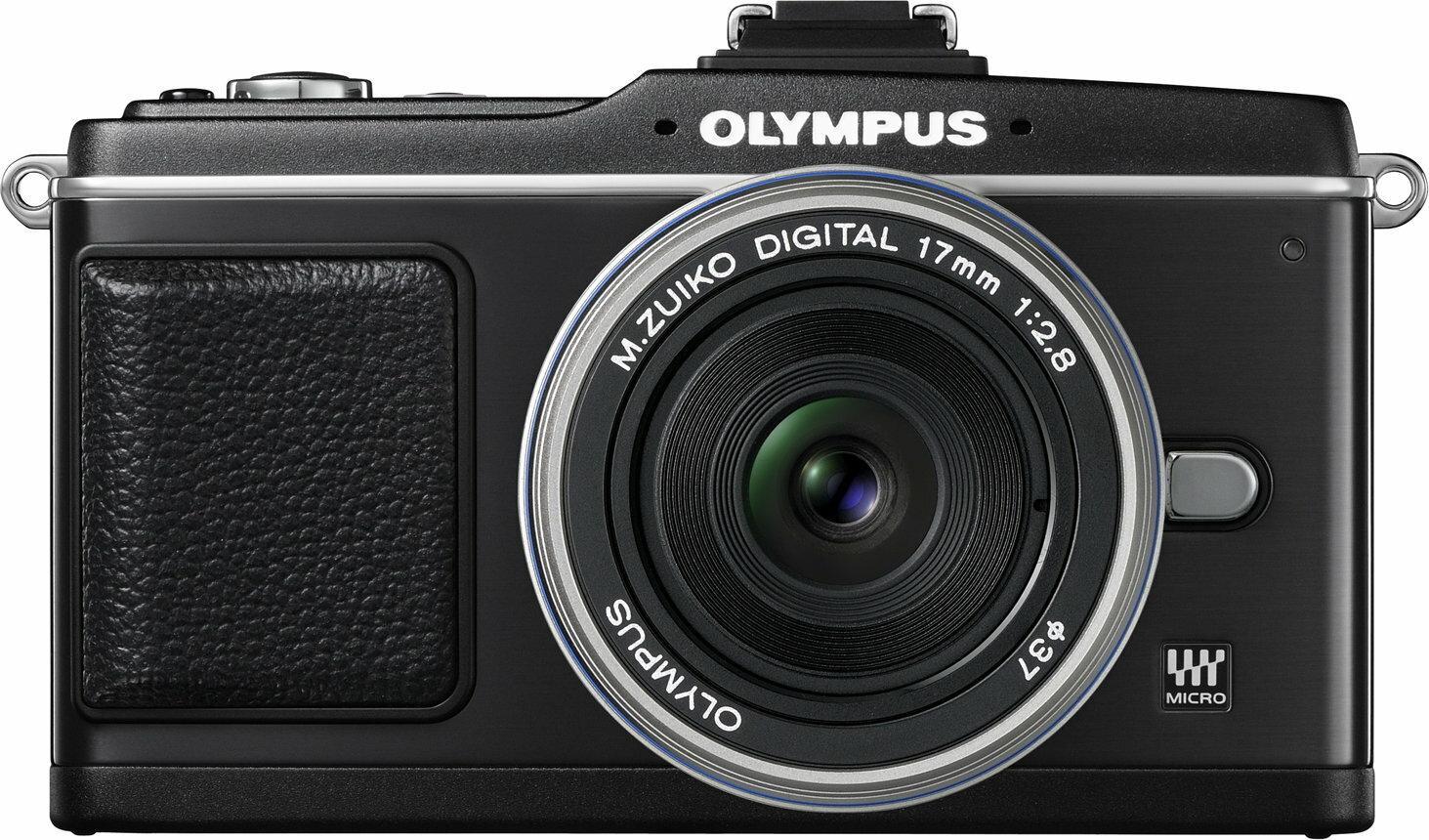 Olympus Pen E-P2 + 14-42 kit czarny