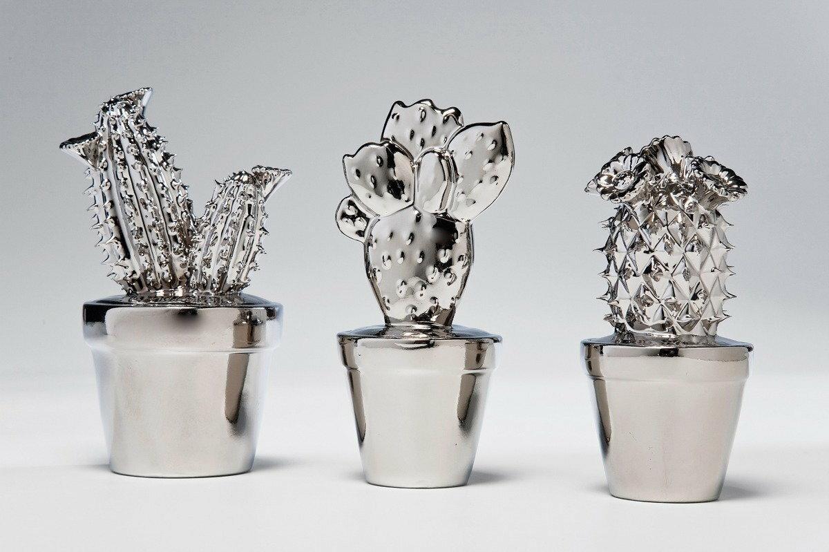 Kare Design Ma Y Dekoracyjny Kaktus Srebrny 32990 2 Ceny Dane Techniczne Opinie Na