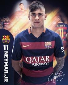 FC Barcelona - Neymar 15/16 Plakat