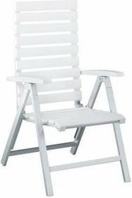 Fotel wielopozycyjny aluminium/kettalux