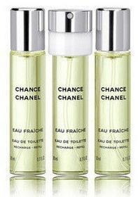 Chanel Chance Eau Fraiche woda toaletowa 3x20ml