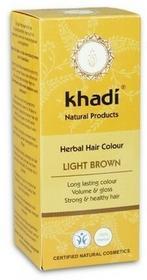 Khadi Henna do włosów jasny brąz 100g