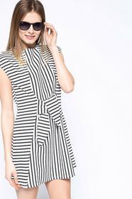 Vero Moda Sukienka - - Sukienka Cesca biały 10154995