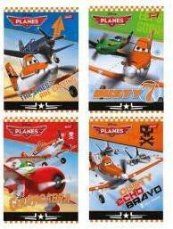 Disney Zeszyt A5 32 k w kratkę Planes UNIPAP