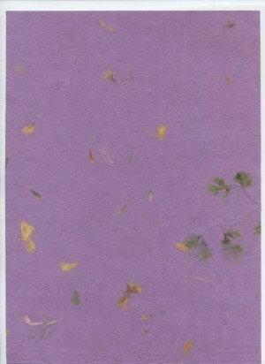 Clairefontaine Papier do scrapbookingu A4 - czerpany - FIOLETOWY FIOLETOWY4