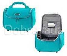 INTER-VION 414478 kuferekek kosmetyczny średni - turkusowy
