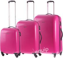 Puccini zestaw walizek PC 005 - różowy