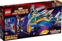 LEGO 76021 Super Heroes - Statek kosmiczny Milano