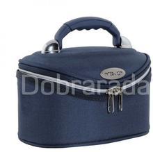 INTER VION 413569D Inter-vion kuferek kosmetyczny Mały - granatowy