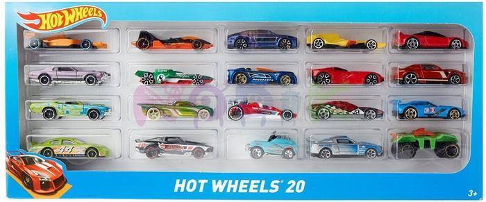 Mattel HOT WHEELS Dwudziestopak H7045