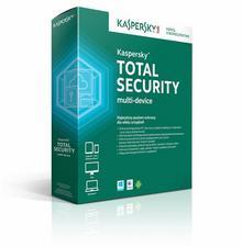 Kaspersky Total Security Multi Device (3 stan. / 1 rok) - Nowa licencja