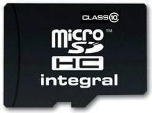 Integral Micro SDHC Class 10 (+ adapter) 16GB