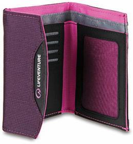 Lifeventure Portfel z Cordury z zabezpieczeniem RFID 90x120x18 Currency Wallet;