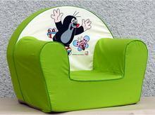 Bino Fotel Krecik kolor zielony 13775