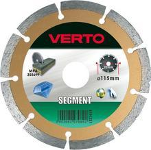 Verto Tarcza diamentowa 230mm, segmentowa, , 61H3S9