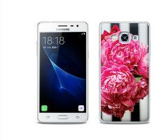 Etuo.pl Foto Case - Samsung Galaxy J3 (2017) - etui na telefon Foto Case - różowe kwiaty ETSM456FOTOFT042000