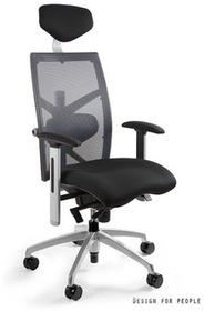 Unique Fotel biurowy EXACT szary (W-099Y-BL- 8) EXACTszary